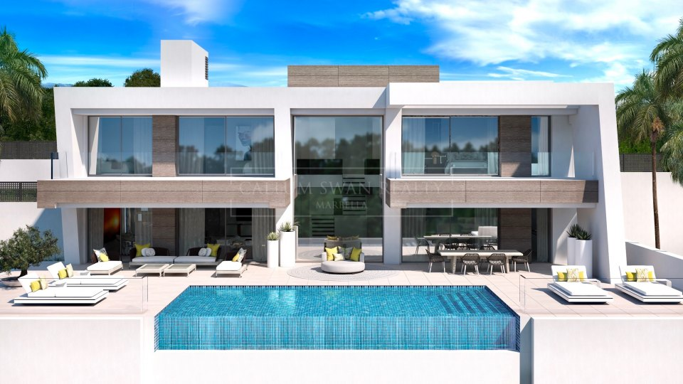 Estepona, Luxury modern villas for sale in Estepona