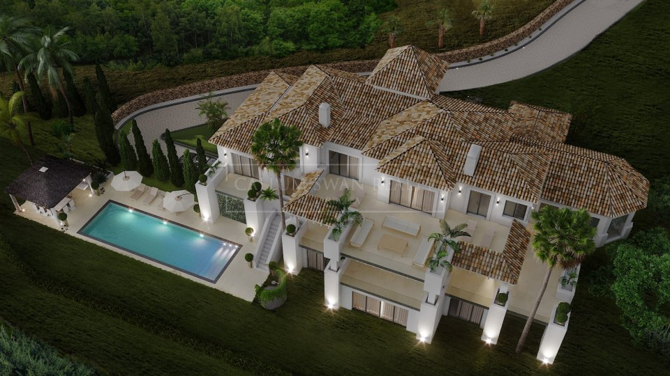 Benahavis, Elegant luxury villa for sale in La Zagaleta