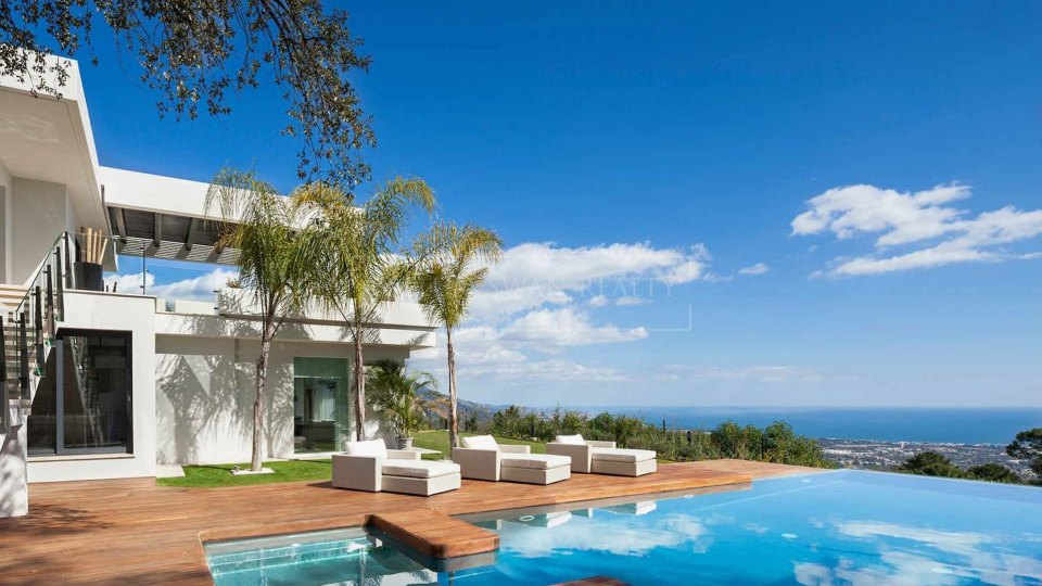Benahavis, Breathtaking modern home in La Zagaleta