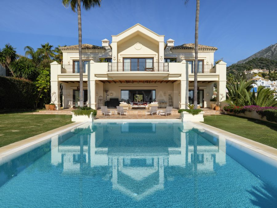 Traditional villa on the Golden Mile