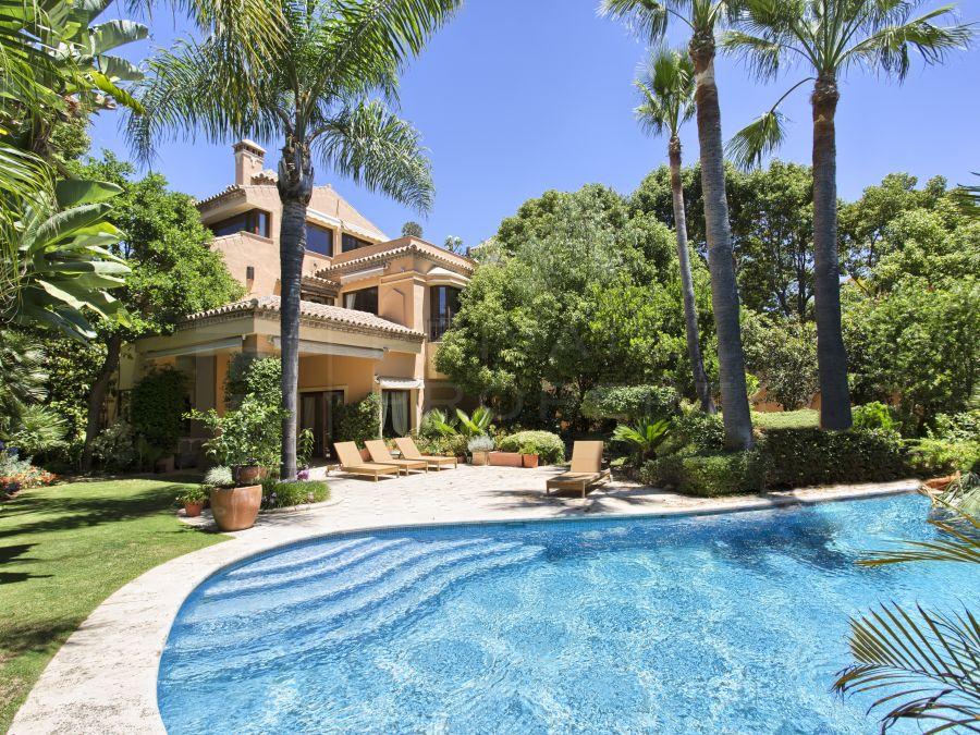 Villa on the Golden Mile, Marbella