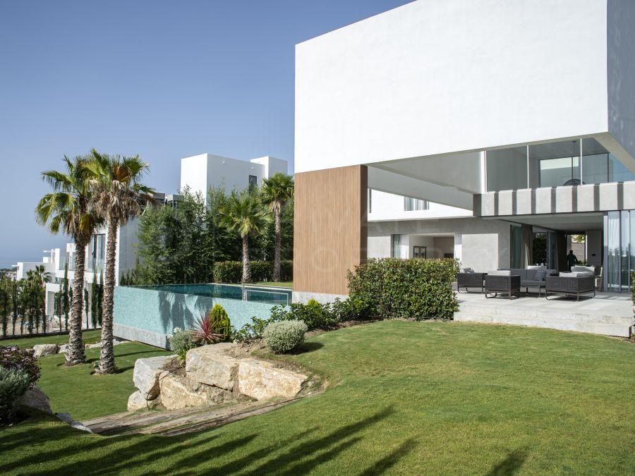 Villa in Los Flamingos with sea views