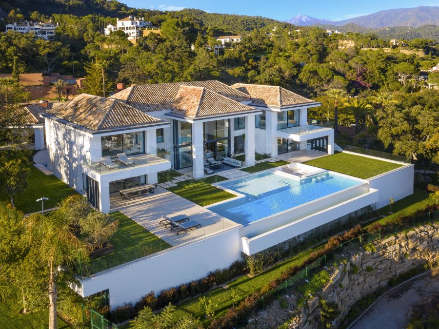 New villa in El Madroñal