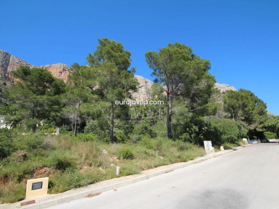 Parcela plana urbanizada en Montgó