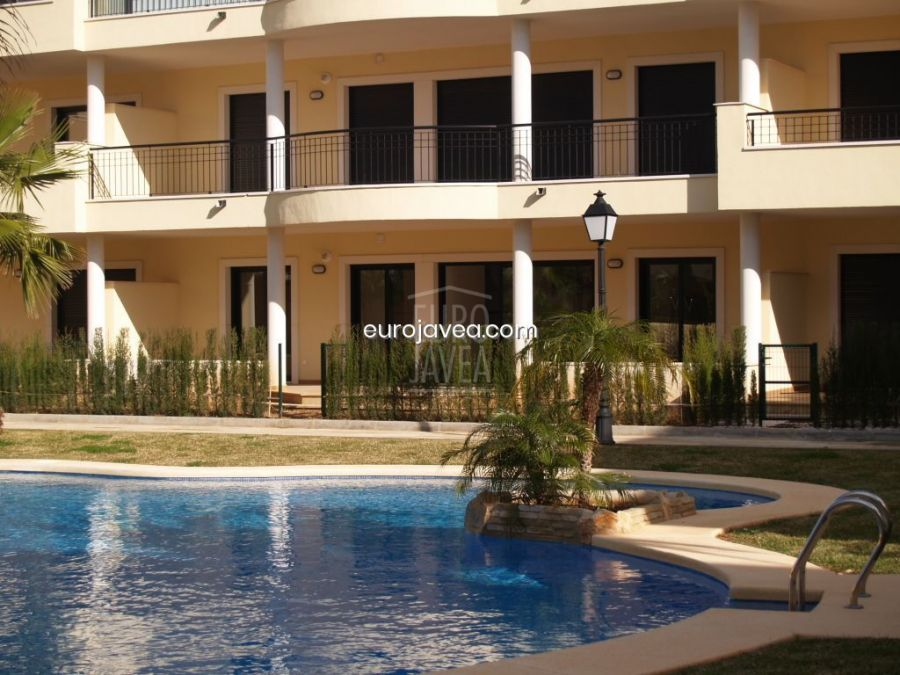 Luxury apartment for rent , close to the Arenal Beach. Ground floor apartment with terrace with direct access to the communal pool