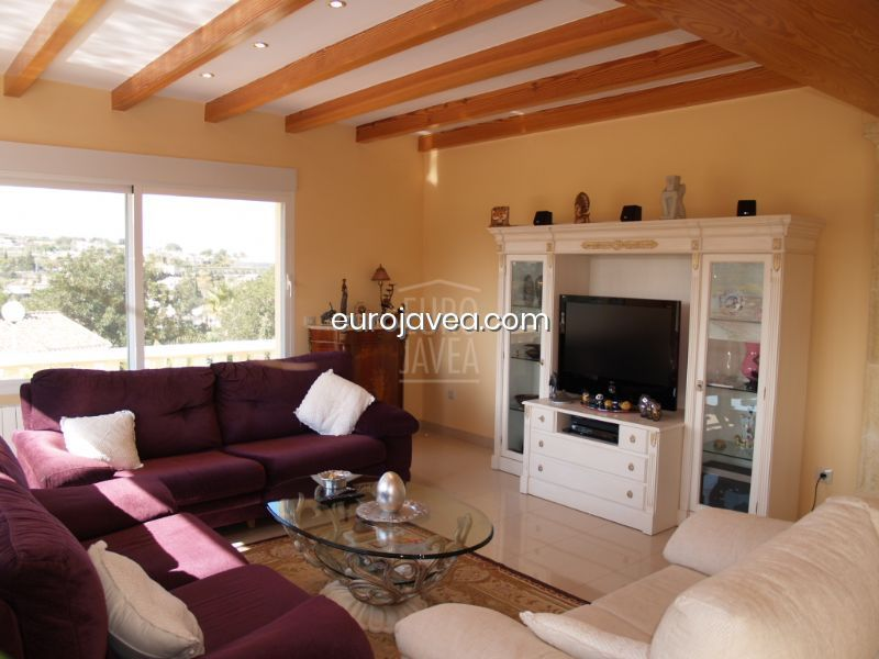 Magnificent villa in the Rafalet in Javea overlooking the valley