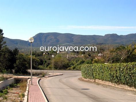 Plot for sale in Montgo, Denia