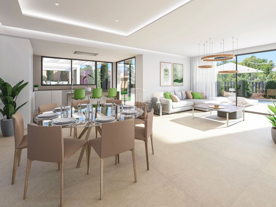 Luxury villa under construction for sale on the First Line in Jávea with spectacular sea views
