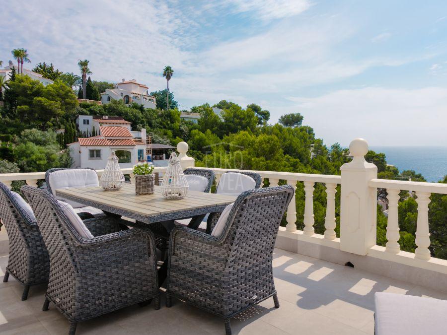 Villa with magnificent sea views for sale in Jávea in the Granadella area