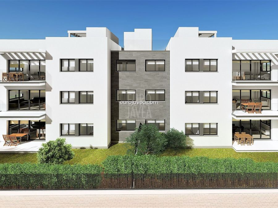 New project of exclusive apartments for sale in Jávea in Arenal Beach