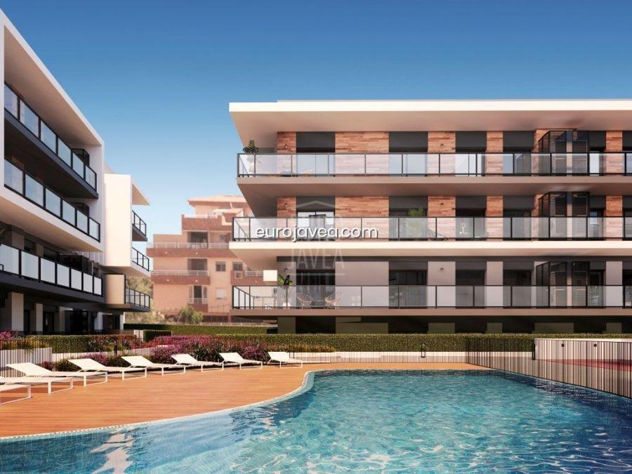 Apartamentos de nueva construcción a la venta en Jávea a pocos metros de la playa .