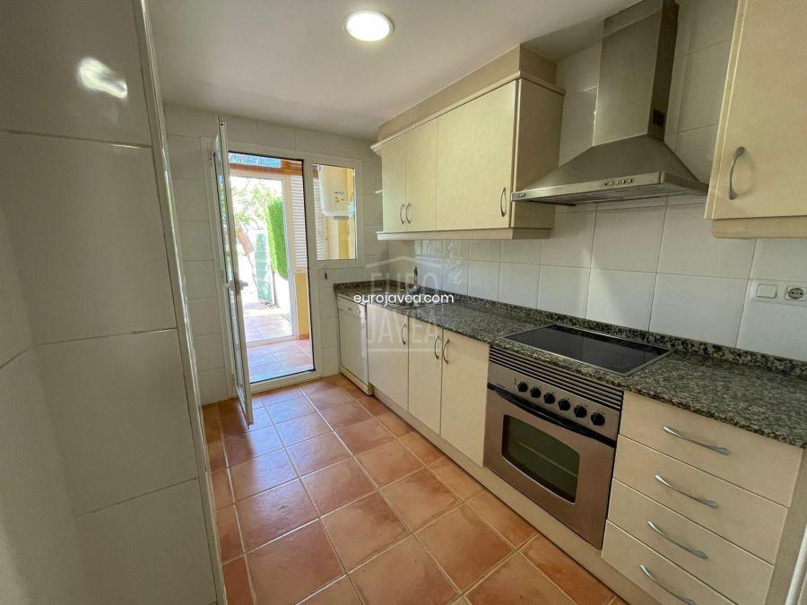 Apartamento en segunda linea de playa a la venta en Jávea