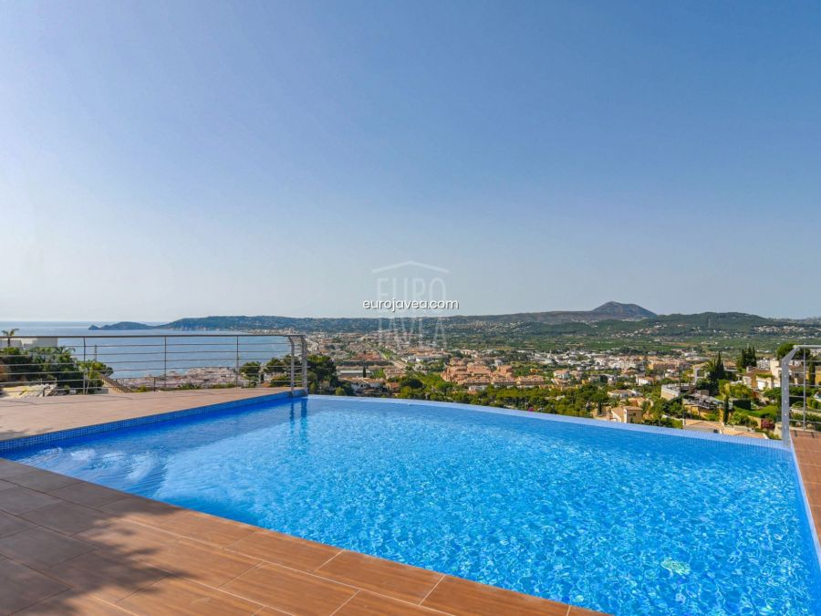 Magnificent modern villa for sale in Jávea with spectacular sea views