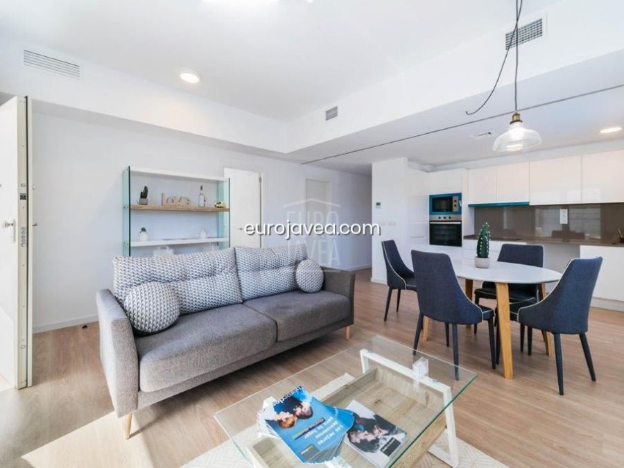 New building apartment for sale in Jávea close to the old town and the port area.