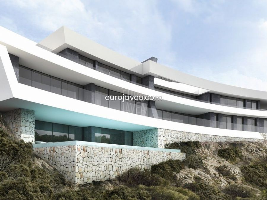 Fantastic project up in the La Corona urbanization, for sale in Jávea , with fantastic panoramic views of the Mediterranean sea and the Bay.