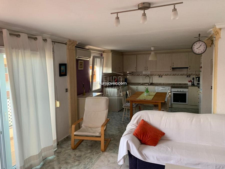 Apartment for holiday rental in Arenal Beach in Jávea