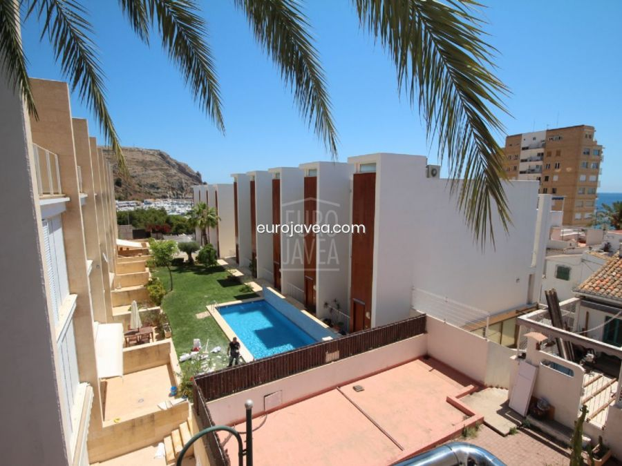Nice apartment for holiday rental in the center of the port in Jávea