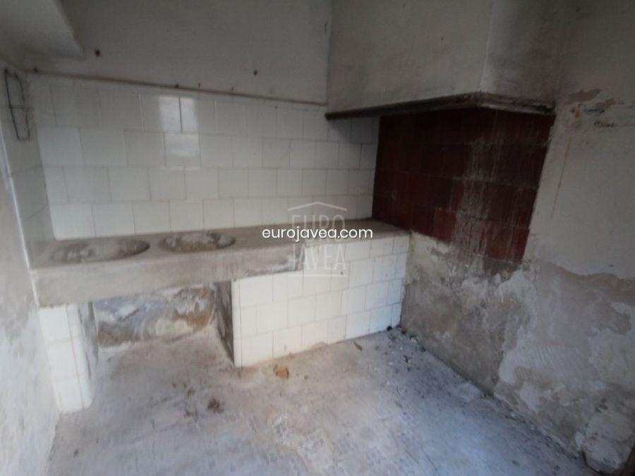 Townhouse to reform for sale in Gata de Gorgos