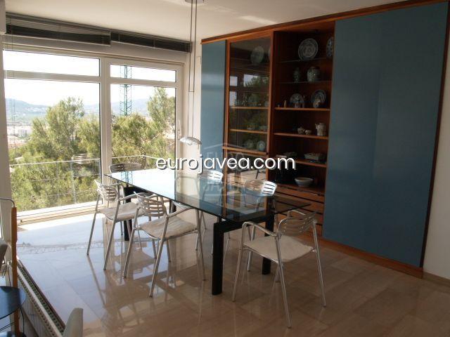 Modern villa with sea views in La Corona