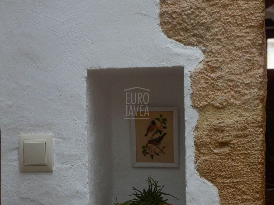 Tipica casa de pueblo reformada a la venta en Jávea en el casco antiguo.
