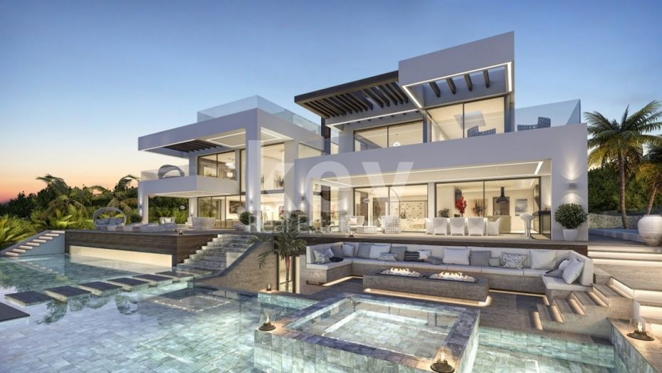 CONTEMPORARY MODERN VILLA FOR SALE IN NUEVA ANDALUCIA, MARBELLA
