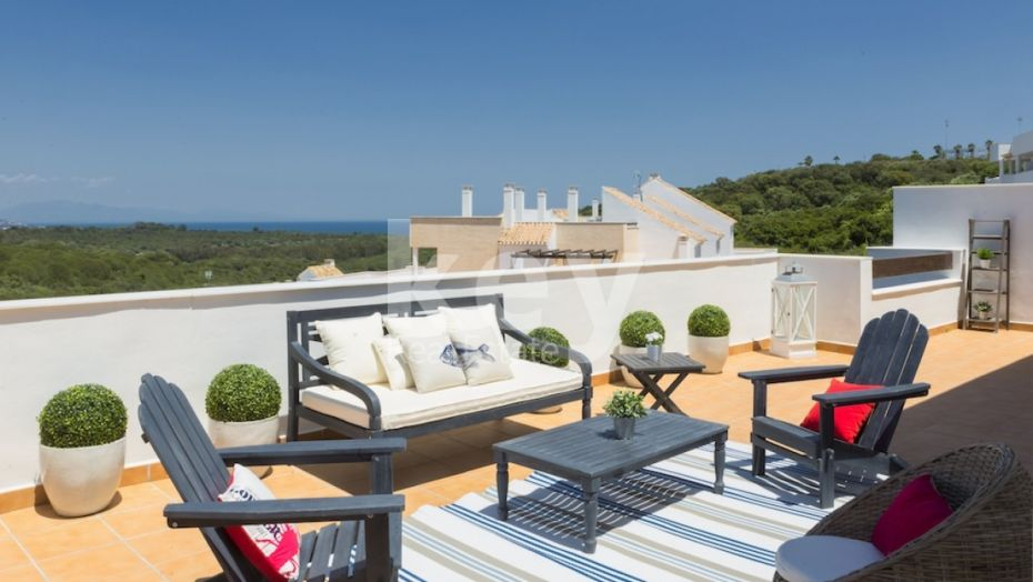 Amazing penthouse with seaviews in Alcaidesa