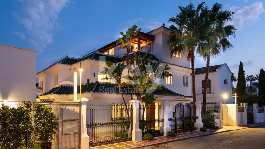 Fully renovated villa in Puente Romano, Golden Mile, Marbella