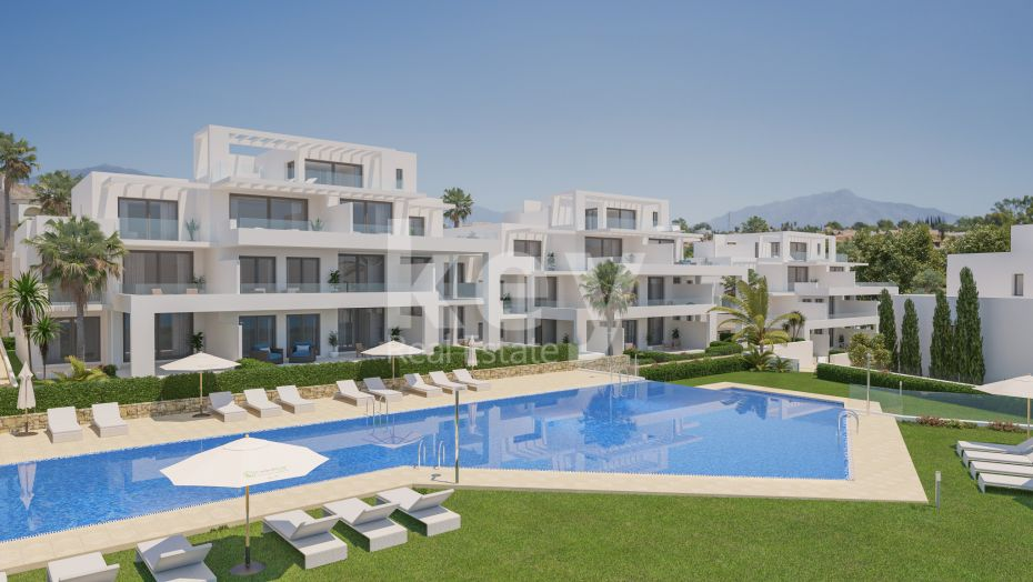 Brand new apartment in El Campanario, Estepona