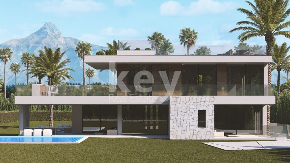 Luxury modern villa in Golden Mile, San Pedro de Alcantara