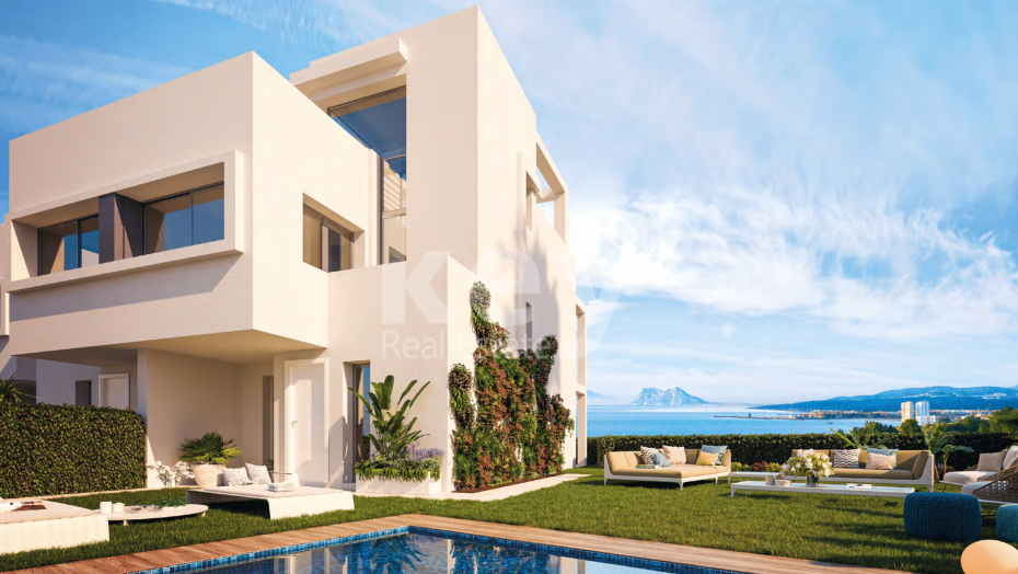 Cozy and modern townhouse with the best panoramic sea views, Bahia de Rocas