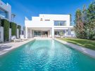 Brand new contemporary second line beach villa on the Marbella Golden Mile