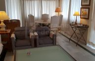 Spacious three bedroom apartment with sea views on the seafront of Marbella