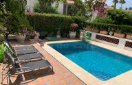 Beautiful semi-detached villa a few meters from the beach in Guadalmina Baja, Marbella