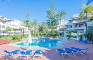 Ground floor apartment with garden in Alhambra del Mar, Marbella
