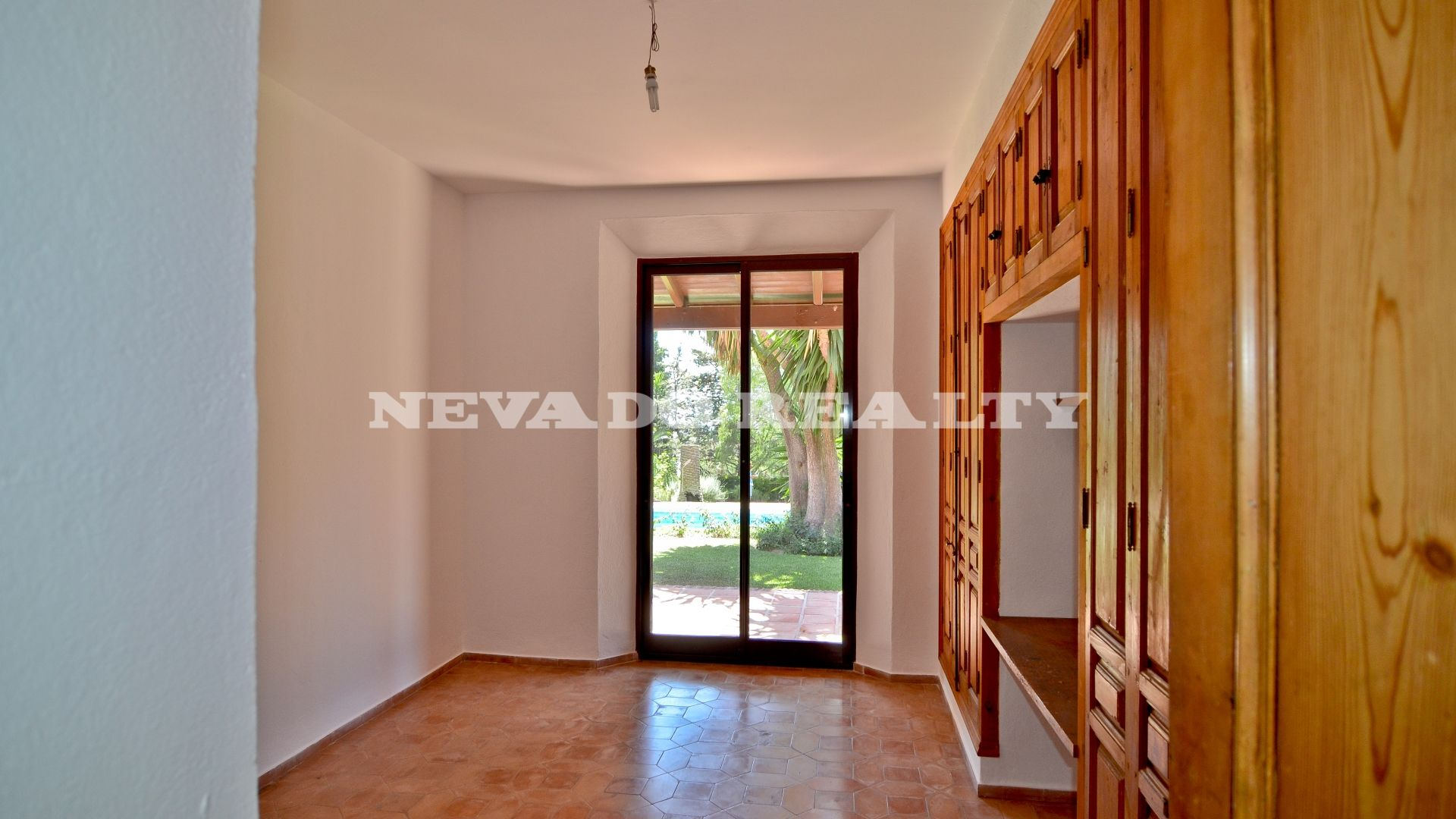 Villa in Marbella built on one floor