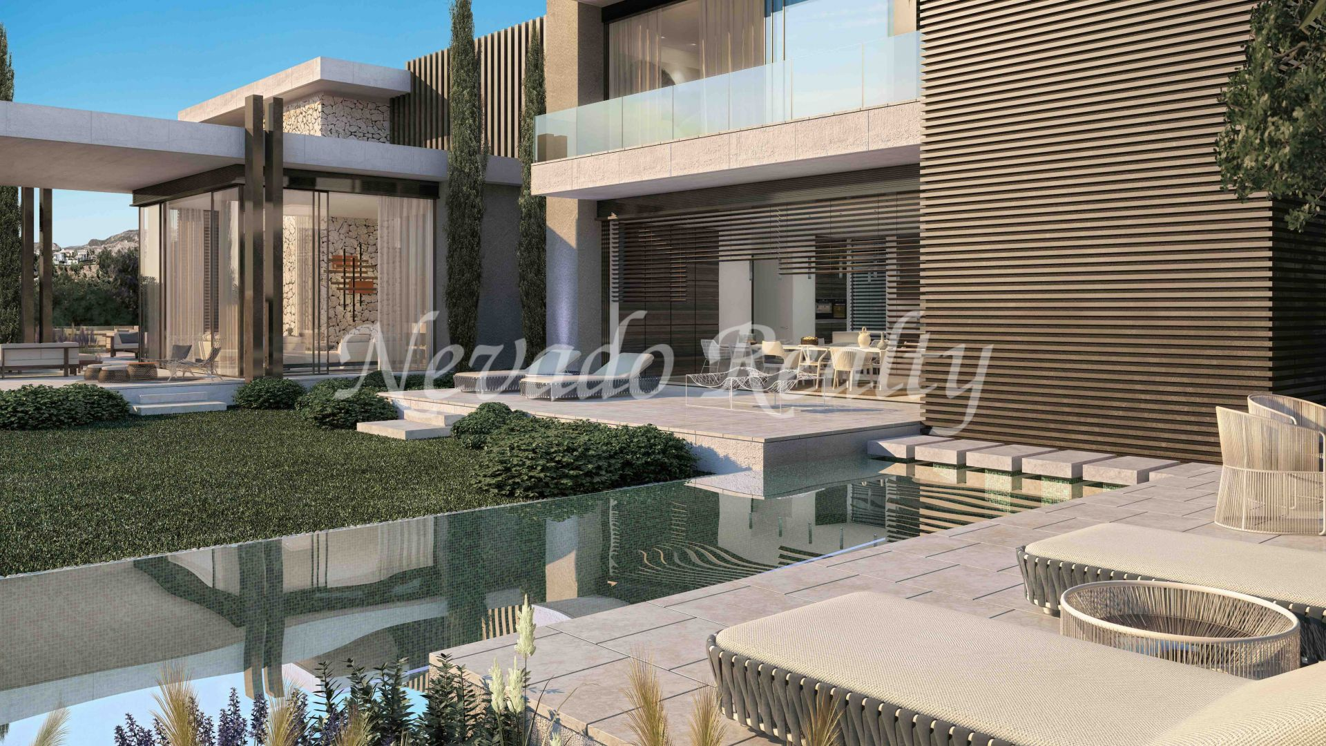 Project of 12 luxury villas with panoramic views in La Quinta