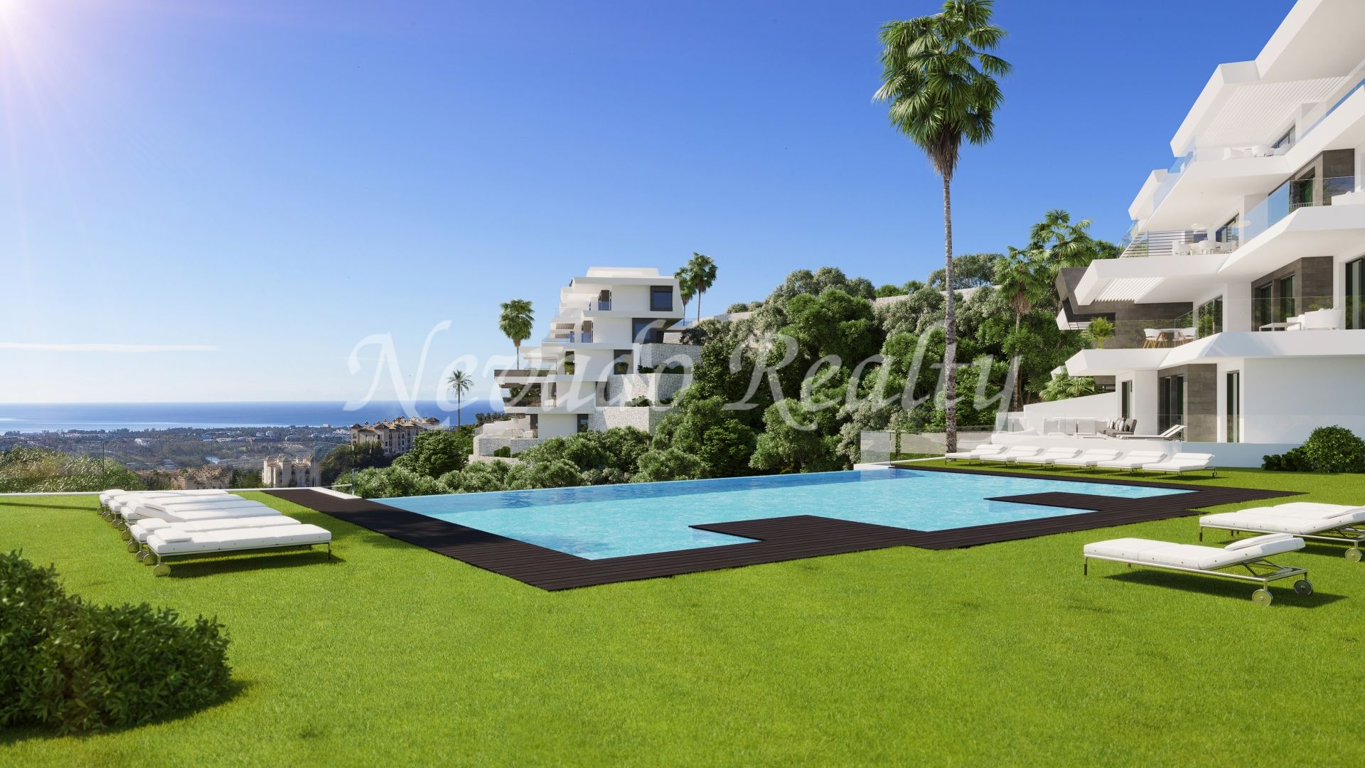 Boutique project of luxury apartments and penthouses with unparalleled views of the sea and the coast