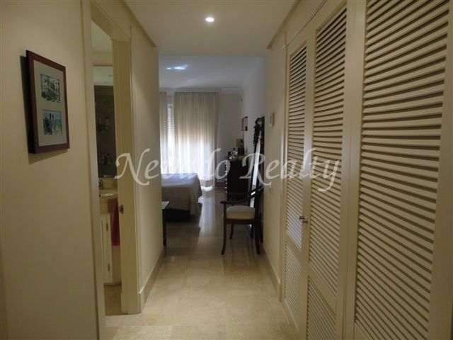 Spacious apartament for sale in Marbella east, closed to Rio Real Golf Course.