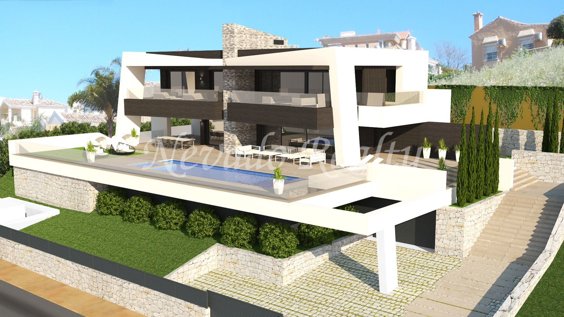 Modern luxury villa close to Los Naranjos Golf Club
