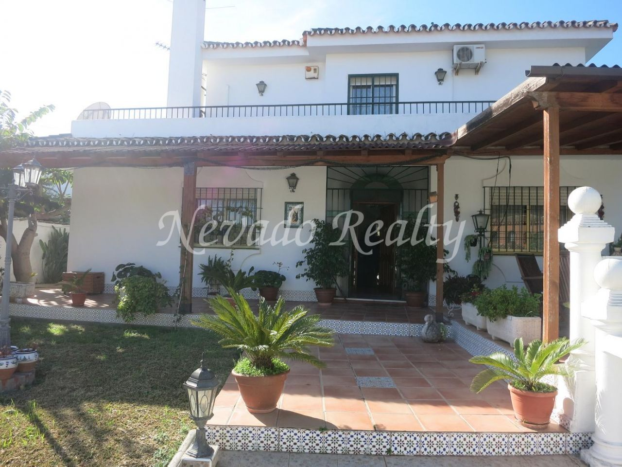 Andalusian villa with views for sale in Marbella centro