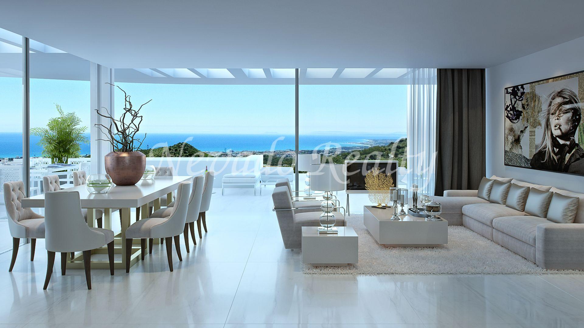 superbe appartement rez de chauss e avec jardin priv et vue panoramique. Black Bedroom Furniture Sets. Home Design Ideas