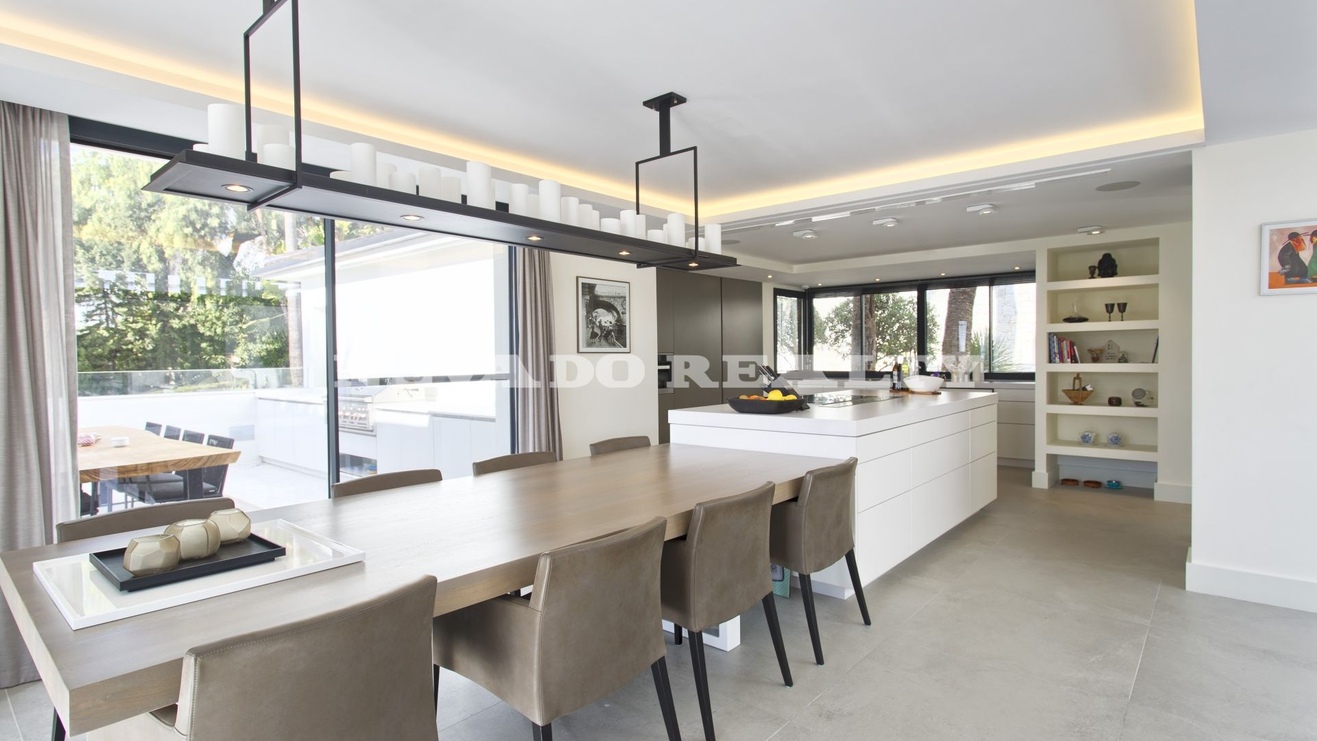 Elegant fully refurbished modern villa with sea views for sale in ...