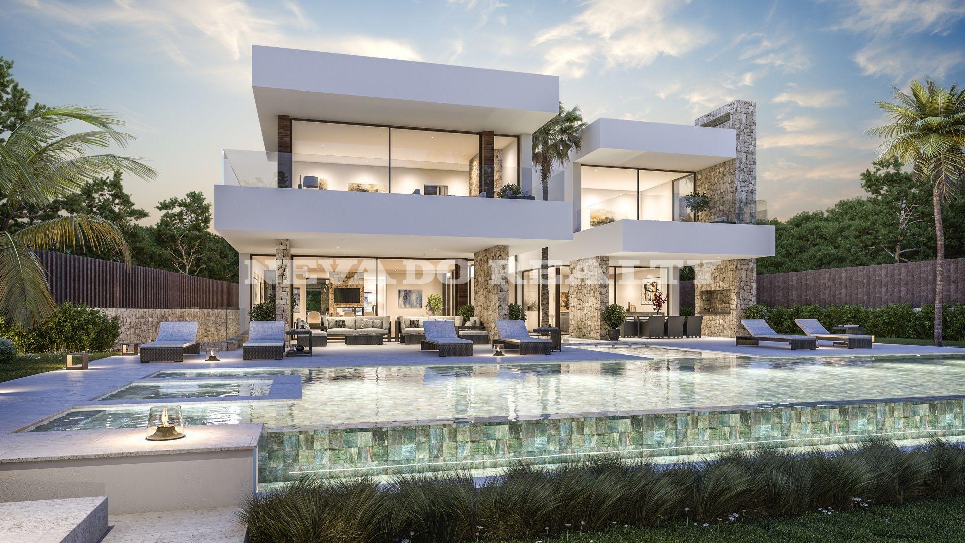 Villa sobre plano a la venta a escasos metros de la playa for Villa casa mansion la cima acapulco