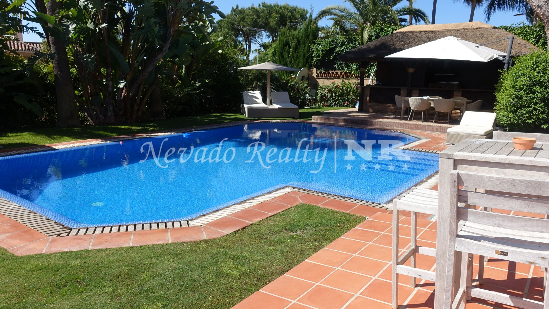 Villa for rent in Altos Reales, Golden Mile