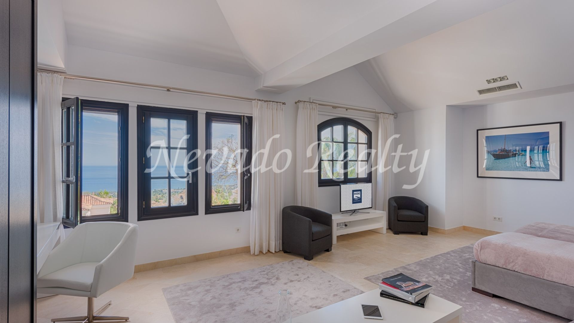 Fully renovated mediterranean style villa with panoramic sea views