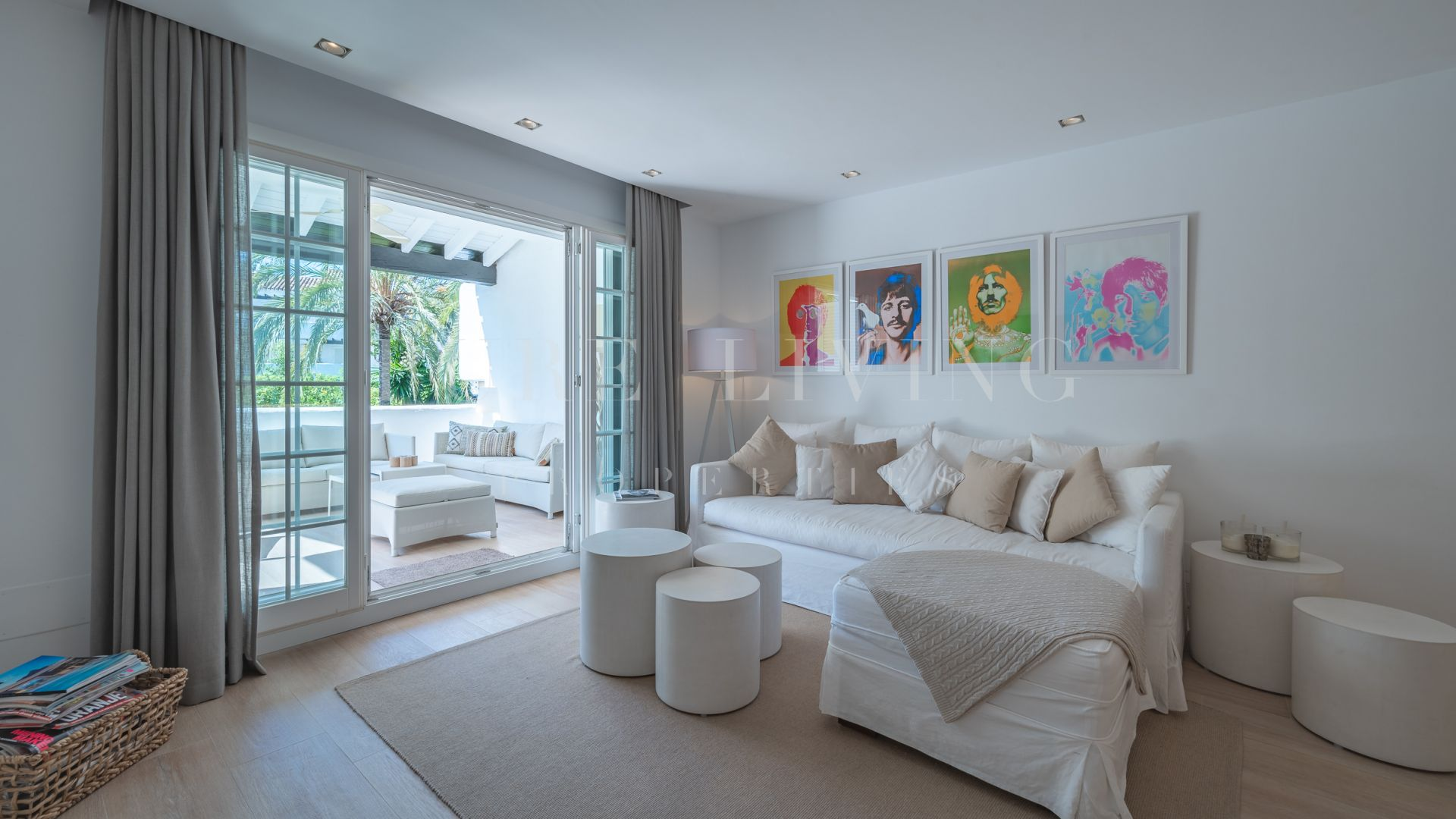Bright Refurbished Three Bedroom Apartment In Fase Ii Puente Romano