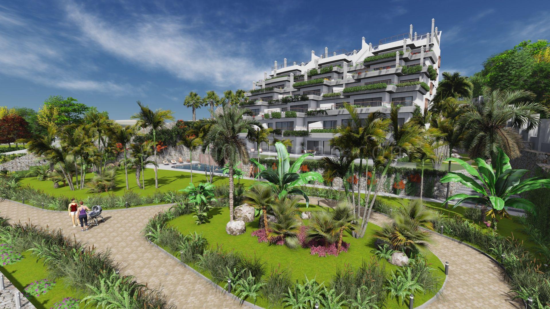 Apartamentos de lujo en venta sobre plano en primera linea de playa en estepona - Apartamentos en venta en estepona ...