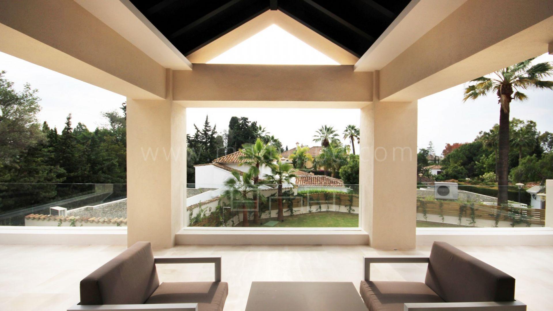 Villa De Nueva Construcci N De Estilo Contempor Neo Al