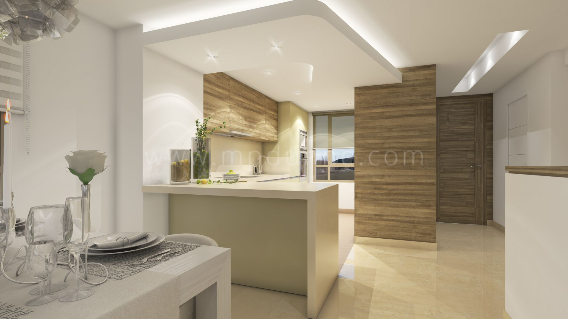 Horizon golf la cala golf apartamentos de nueva for Apartamentos interiores contemporaneos