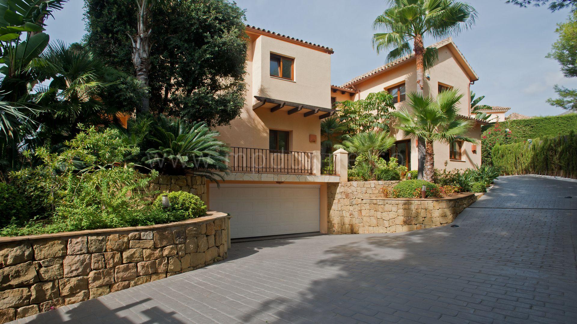 Sierra Blanca Milla De Oro De Marbella Encantadora Villa